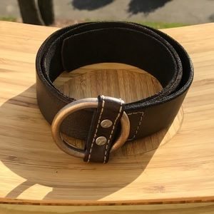 Lucky Brand Brown Leather Belt Size 36/38